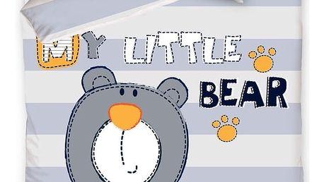 Carbotex Dětské povlečení My Little Bear 140x200 70x80