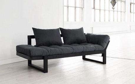 Sofa Karup Edge, grey/black - doprava zdarma!