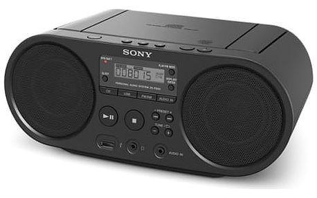 Radiopřijímač s CD Sony ZS-PS50B černý