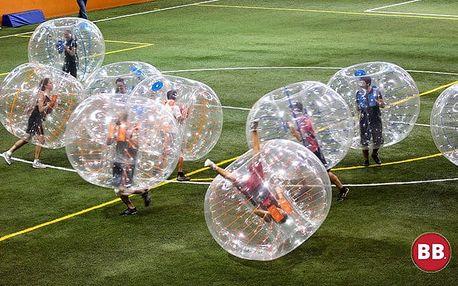 60 minut zábavné hry Bumper Ball pro partu nebojácných přátel v Praze a Brně