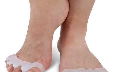 Silikonový srovnávač prstů u nohou - 2 barvy