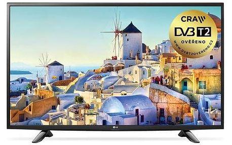 Televize LG 43UH603V černá + Doprava zdarma