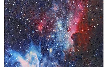 Plážová osuška s motivem vesmíru - 153 x 130 cm