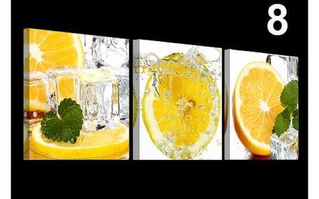 Vícedílný obraz na stěnu - 30cm x 30cm, vzor 8