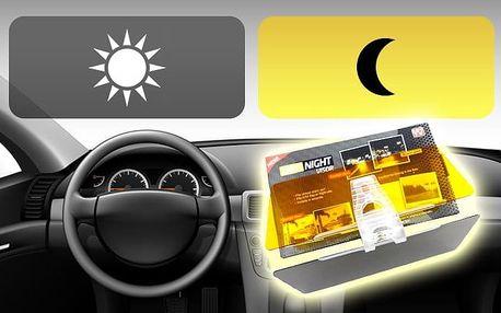 Clona do auta na ochranu očí před oslněním sluncem nebo reflektory projíždějících aut