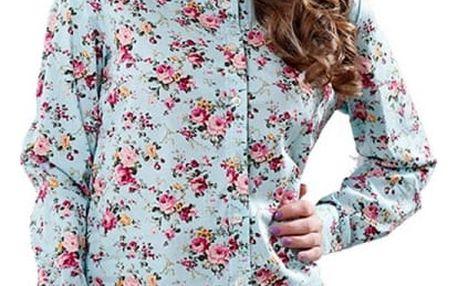 Dámská košile s květinovým vzorem - 5 varinat