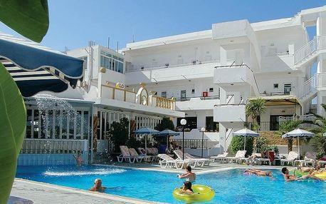 Řecko - Rhodos na 12 až 13 dní, polopenze s dopravou letecky z Brna