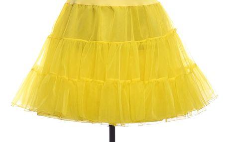 LK shop Tutu sukně s vysokým pasem Barva: žlutá, Varianta: S