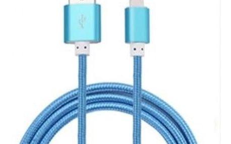 Nabíjecí a datový kabel pro iPhone a Android - různé délky