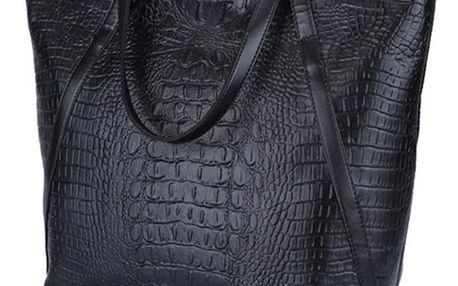 LK shop Prostorná kabelka - krokodýl