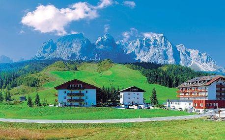 Itálie - Alta Pusteria na 8 dní, polopenze s dopravou vlastní