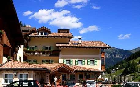 Itálie - Val di Fassa e Carezza na 8 dní, plná penze, polopenze nebo snídaně s dopravou vlastní