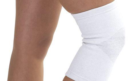 4Home kompresní návlek na koleno se stříbrným vláknem S/M