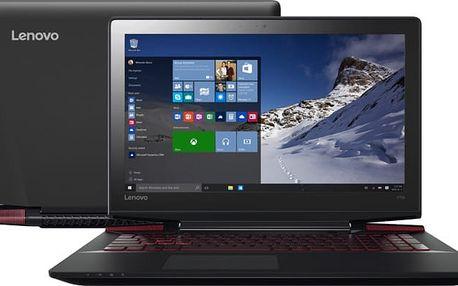 Lenovo IdeaPad Y700-17ISK, černá - 80Q000ACCK + Chladící podložka YENKEE YSN 120 v ceně 379 Kč