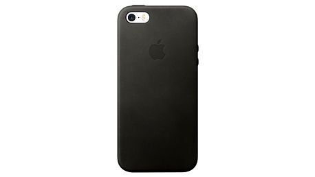 Apple iPhone SE Leather Case, Black - MMHH2ZM/A