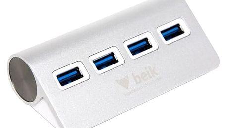Beik HYD-9025H USB HUB 4 porty, USB 3.0 - BEIK001