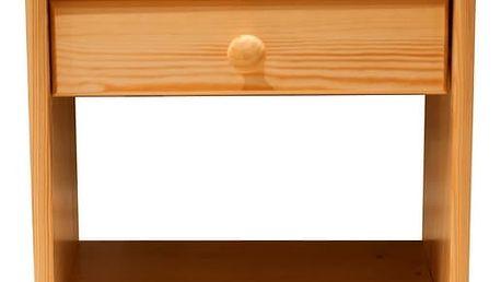 Noční stolek WIKI borovice
