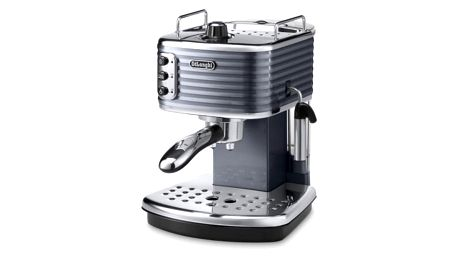 Espresso DeLonghi Scultura ECZ351GY šedé/nerez