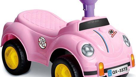 WIKY Odrážedlo auto 50 cm, fialová