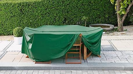Ochranná pvc fólie na stůl oválná, 240 x 180 cm