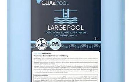 Bezchlórová chemie Guapex LARGE POOL 5 litrů + Doprava zdarma