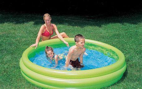 Bazén tříkomorový 102x25cm