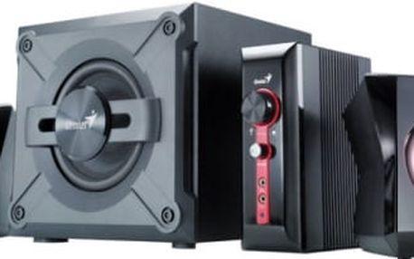 Genius GX Gaming SW-G2.1 1250 (31730980100) černá/červená