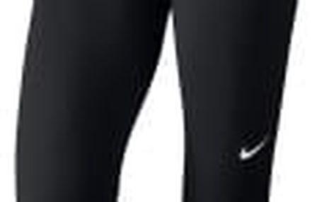 Dámské legíny Nike W NP CPRI L BLACK/WHITE