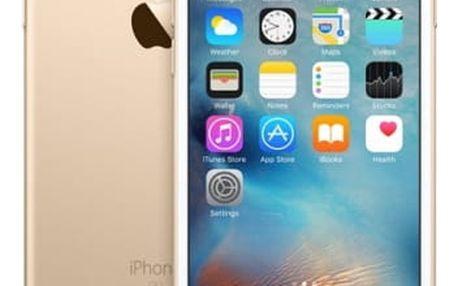 Mobilní telefon Apple 128GB - Gold (MKQV2CN/A) zlatý