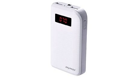 MyMax PowerBank CARBON 10000mAh ( White )