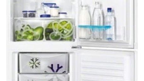 Kombinace chladničky s mrazničkou Zanussi ZRB33103WA bílá