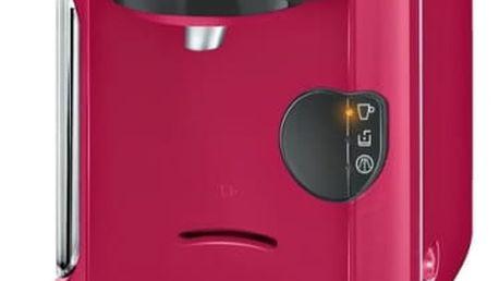 Espresso Bosch Tassimo VIVY TAS1251 růžové + dárek