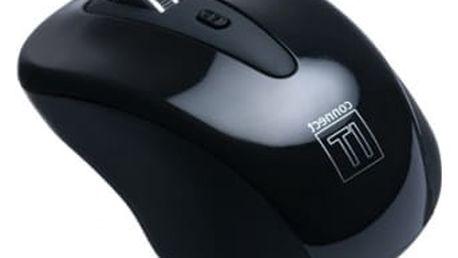 Myš Connect IT CI-66 (CI-66) černá / optická / 5 tlačítek / 1600dpi
