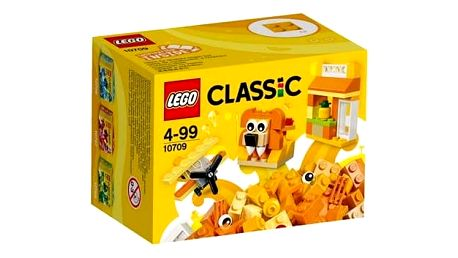 Stavebnice LEGO® CLASSIC 10709 Oranžový kreativní box