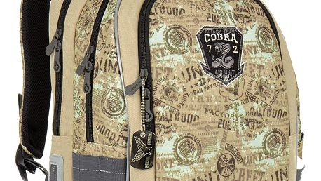 Školní batoh Topgal CHI 872 K - Brown