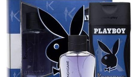 Playboy King of the Game For Him dárková kazeta pro muže toaletní voda 60 ml + sprchový gel 250 ml