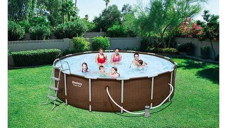 Bazén Bestway Steel Frame Pool 427 x 107 cm, 56647 + Doprava zdarma