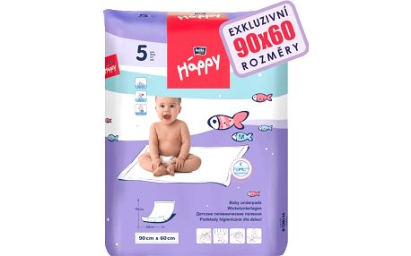Bella Baby Happy 60x90 cm, 5 ks