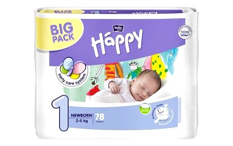 Bella Baby Happy New Born Big Pack 82 ks