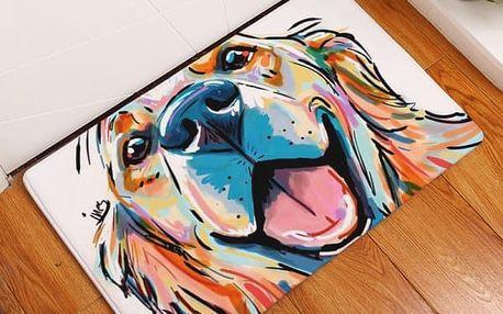 Protiskluzová podložka s abstraktními motivy psů - 21 variant