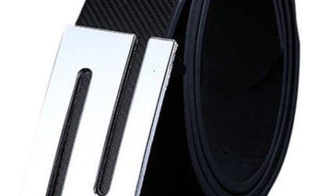 Pásek pro muže s ozdobnou sponou - 108 cm - dodání do 2 dnů