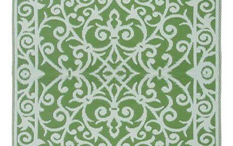 Mátově zelený oboustranný venkovní koberec Green Decore Gala, 90 x 150 cm - doprava zdarma!