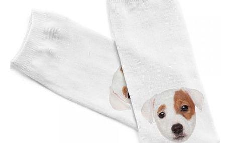 Dámské kotníkové ponožky s pejsky - 12 variant