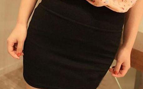 Krátká elastická sukně - 5 barev - dodání do 2 dnů