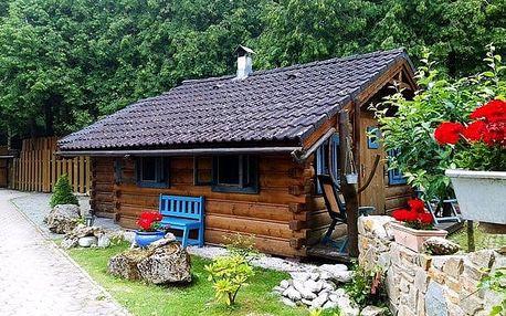 3 až 5denní pobyt pro 1 s bazénem a slevami ve srubu u Vily Maria na Slovensku