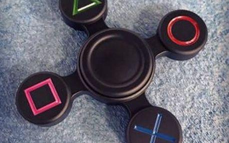 Originální fidget spinner ve stylu PlayStation
