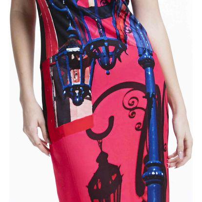 Culito from Spain růžové šaty Farolito - M