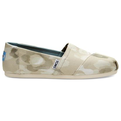 Toms béžové espadrilky Natural Watercolor Floral - 40