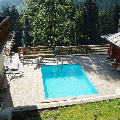 Letní prázdniny na 5-7 dní pro dva s polopenzí v Krkonoších