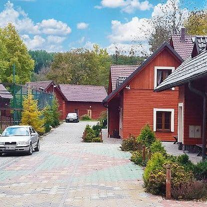 2–6denní pronájem horské chaty až pro 11 osob v komplexu Avalanche v Jeseníkách